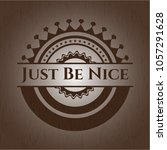 just be nice realistic wooden... | Shutterstock .eps vector #1057291628