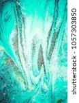 liquid marble pattern. magic... | Shutterstock . vector #1057303850