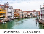 architecture of grand canal... | Shutterstock . vector #1057315046