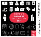 premium business vector icons...