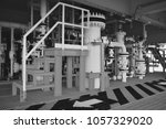 pipeline production and control ... | Shutterstock . vector #1057329020