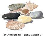 vector realistic tropical...   Shutterstock .eps vector #1057330853
