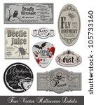 fun halloween vintage style... | Shutterstock .eps vector #105733160