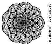 mandalas for coloring book.... | Shutterstock .eps vector #1057332968