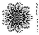 mandalas for coloring book....   Shutterstock .eps vector #1057332980