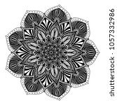 mandalas for coloring book....   Shutterstock .eps vector #1057332986