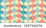 vintage seamless background ... | Shutterstock .eps vector #1057360376