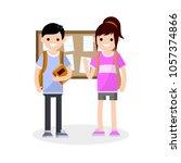 cartoon flat illustration   a...   Shutterstock .eps vector #1057374866