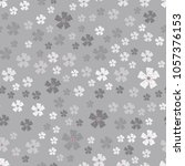 vector seamless pattern with... | Shutterstock .eps vector #1057376153