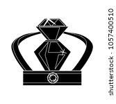 crown golden icon | Shutterstock .eps vector #1057400510