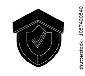 security icon   shield symbol | Shutterstock .eps vector #1057400540