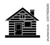 home icon   real estate symbol | Shutterstock .eps vector #1057400600