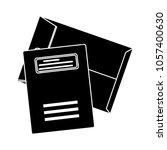 vector envelope icon | Shutterstock .eps vector #1057400630