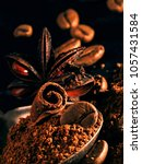 Star Anise  Coffee Beans And...