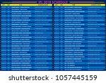 llustration of ipl cricket... | Shutterstock .eps vector #1057445159