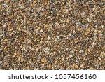 fine gravel  natural stones | Shutterstock . vector #1057456160