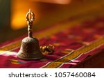Ritual hand bell in the...