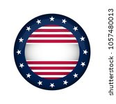 united states campaign button | Shutterstock .eps vector #1057480013