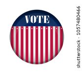 united states campaign button