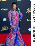 Small photo of Clareta Haddon attends the 33rd Annual Stellar Gospel Music Awards at the Orleans Arena on March 24th, 2018 in Las Vegas, Nevada - USA