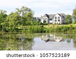 The House Near The Lake. House...