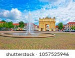 potsdam  germany   may 20  2013 ... | Shutterstock . vector #1057525946