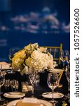 wedding set up. decoration for...   Shutterstock . vector #1057526600