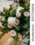 wedding set up. decoration for...   Shutterstock . vector #1057526606