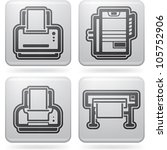 computer parts and accessories  ... | Shutterstock .eps vector #105752906