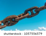 ship's anchor chain  also known ...   Shutterstock . vector #1057556579