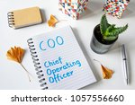 coo  chief operating officer... | Shutterstock . vector #1057556660