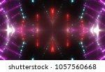 abstract pink creative lights... | Shutterstock . vector #1057560668
