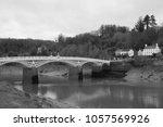 chepstow  river wye | Shutterstock . vector #1057569926