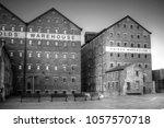gloucester historic docks ... | Shutterstock . vector #1057570718