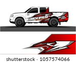 truck graphic kit. abstract ... | Shutterstock .eps vector #1057574066