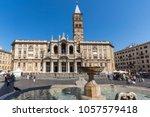 rome  italy   june 22  2017 ...   Shutterstock . vector #1057579418