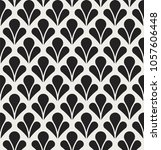 vector seamless pattern.... | Shutterstock .eps vector #1057606448