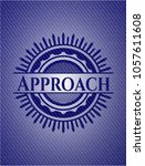 approach with jean texture | Shutterstock .eps vector #1057611608