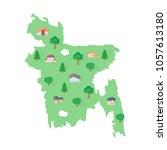 bangladesh asian map real estate