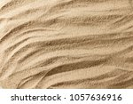close up texture of sand beach... | Shutterstock . vector #1057636916