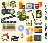 editable cinema vector...