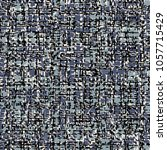 motley textile fabric  in black ... | Shutterstock .eps vector #1057715429