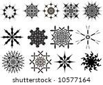 graphic design elements | Shutterstock .eps vector #10577164