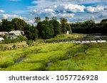 venta rapid or ventas rumba is... | Shutterstock . vector #1057726928