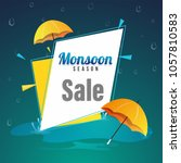 Monsoon Season Sale Poster  Or...
