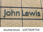 Small photo of Cardiff, Wales - March 2018: Large sign the exterior wall of the John Lewis department store