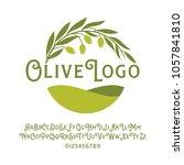 olive vector logo | Shutterstock .eps vector #1057841810