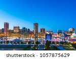 baltimore maryland usa. 09 07... | Shutterstock . vector #1057875629
