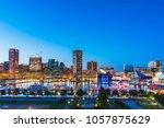baltimore maryland usa. 09 07... | Shutterstock . vector #1057875629