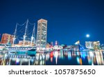 baltimore maryland usa. 09 07... | Shutterstock . vector #1057875650